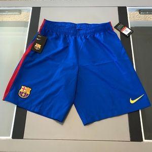 Nike FBC DriFit FCB Barcelona Futbol soccer shorts